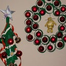 Christmas Decorations Using Coffee Cups