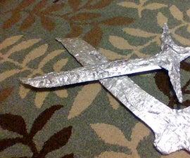 How to Make a Tinfoil Sword