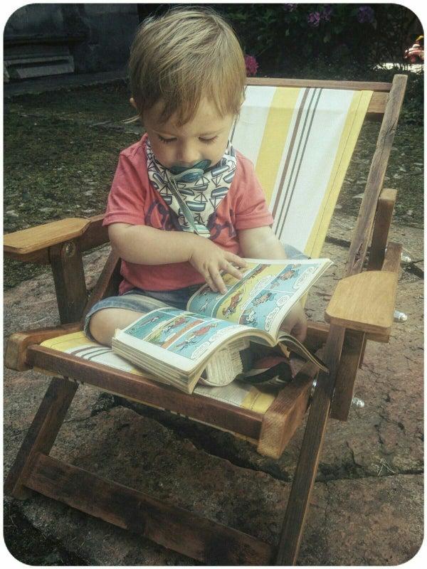 Deckchair With Baby Version