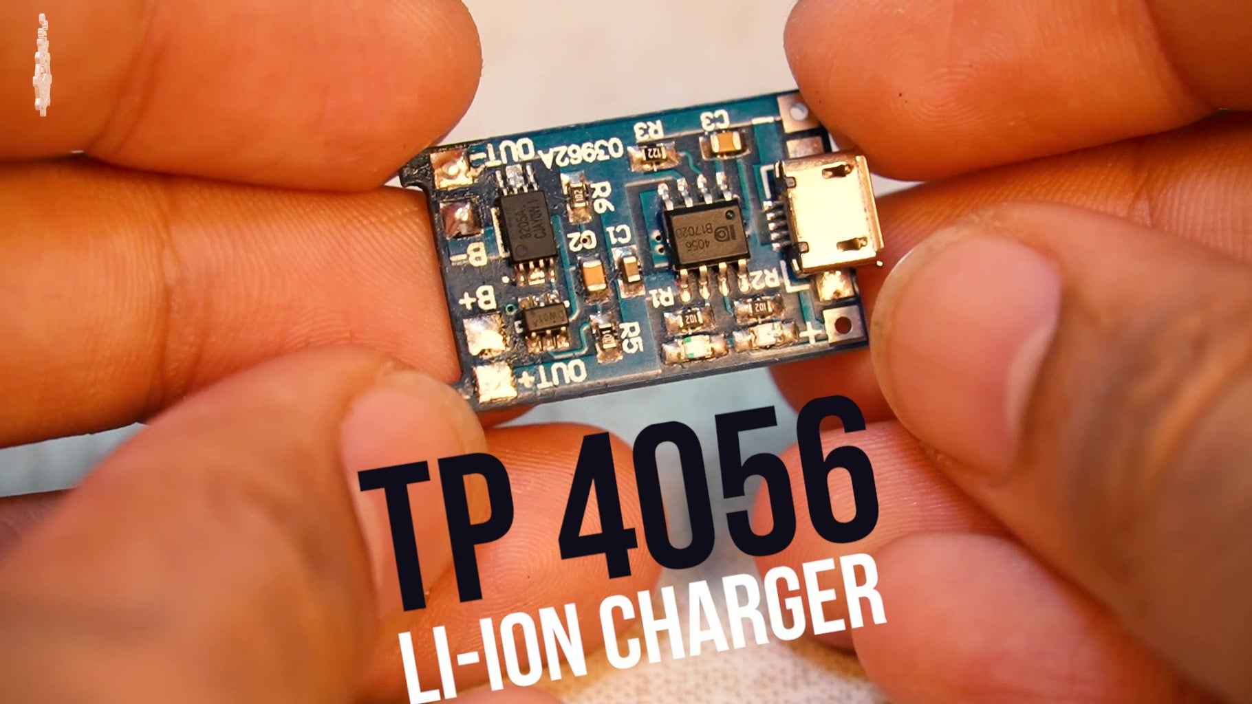 Solder Battery to Charging Module