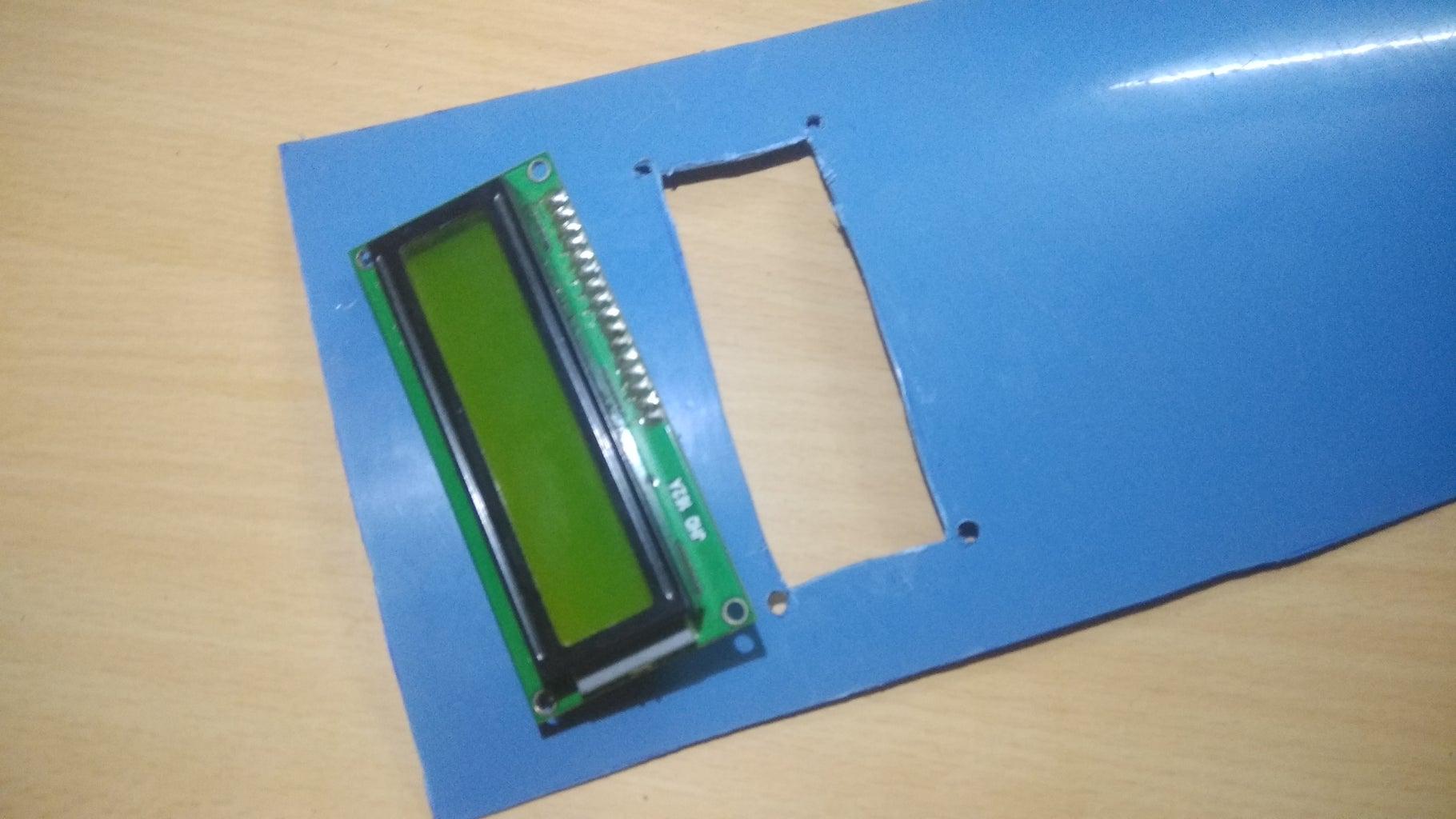 PREPARING THE LCD DISPLAY