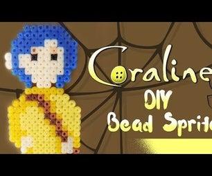 DIY: Coraline | Bead Sprites (Perler/Hama/Arktal Beads)