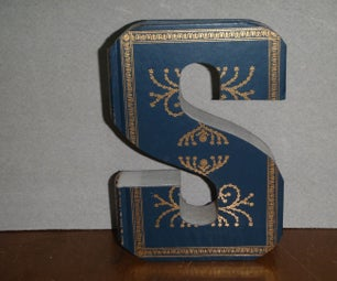 Easy to Make Book Letter