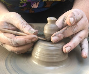 Throwing Pottery Miniatures