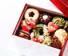 ONE DOUGH Holiday Cookie Gift Box