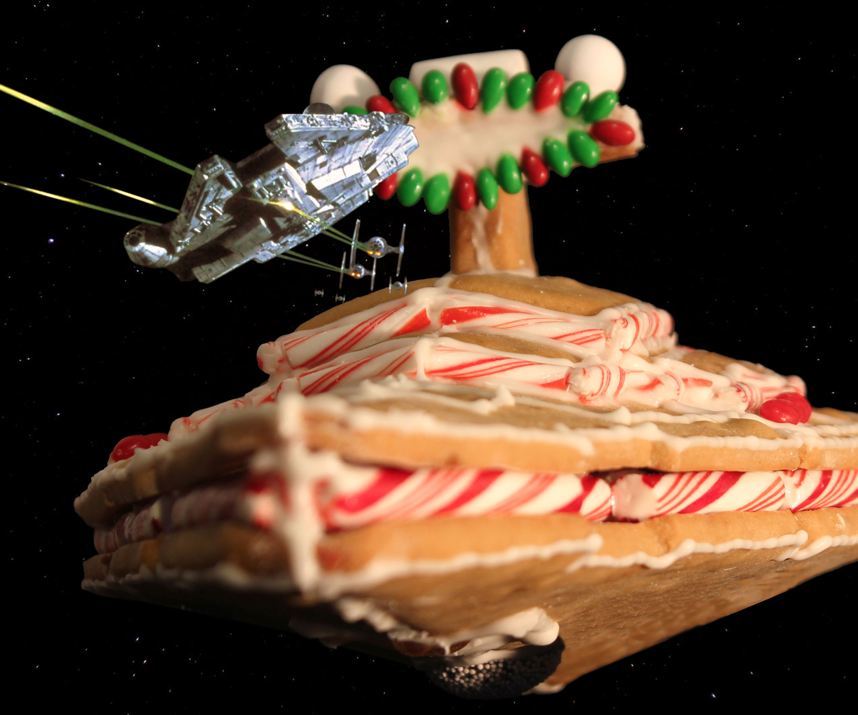 Gingerbread Star Destroyer