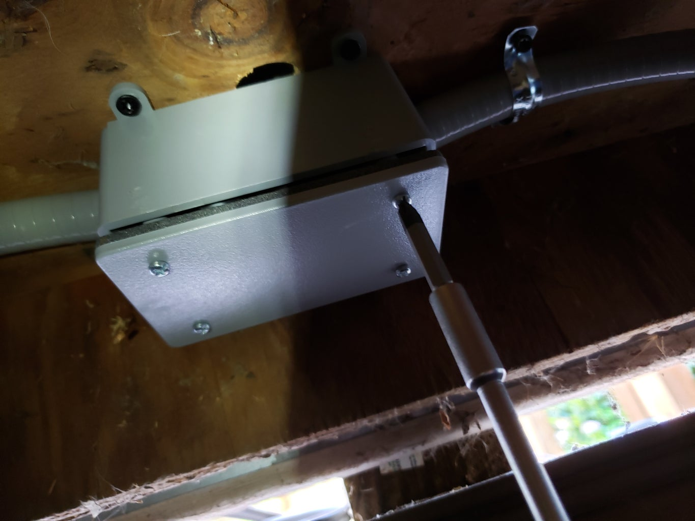 Fixture to Light Switch Wiring Part 4
