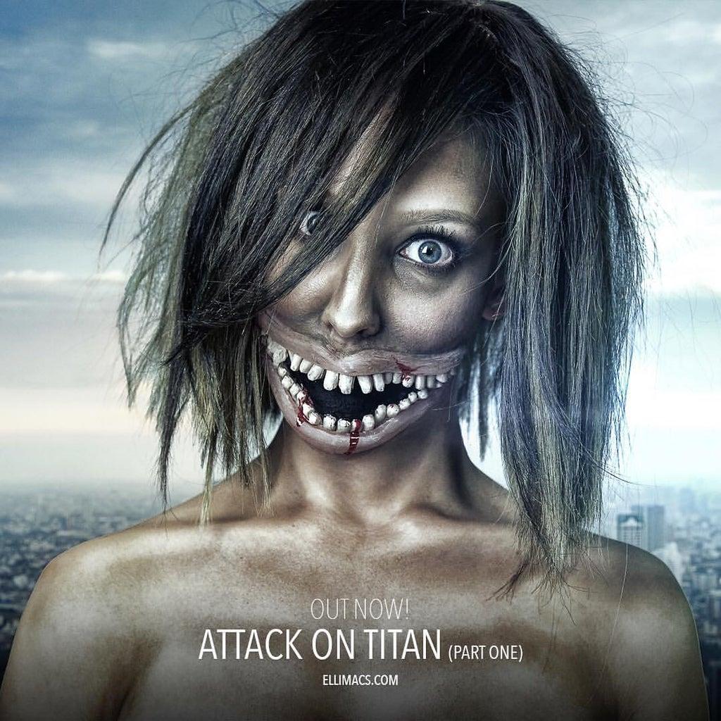 Attack on Titan - SFX Makeup Tutorial
