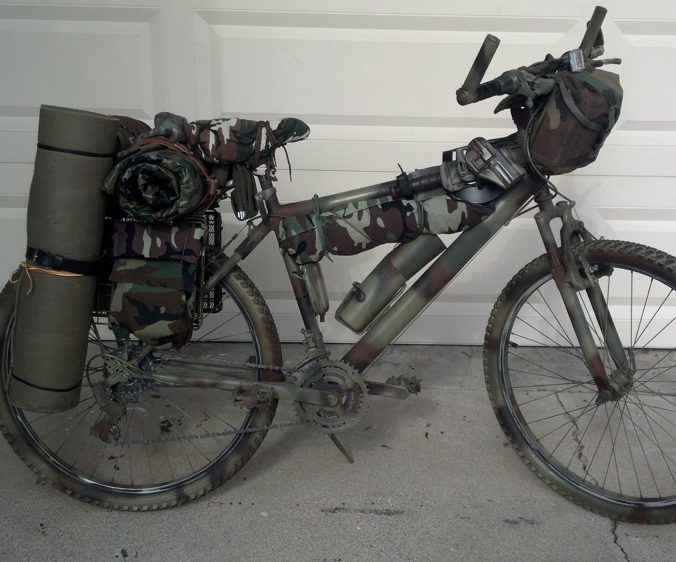 Bug Out Bike - Apocalypse Bicycle