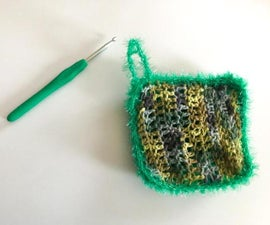 Easy Crocheted Dishcloth