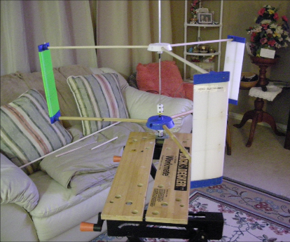 3D Printed Wind Turbine uses Bamboo
