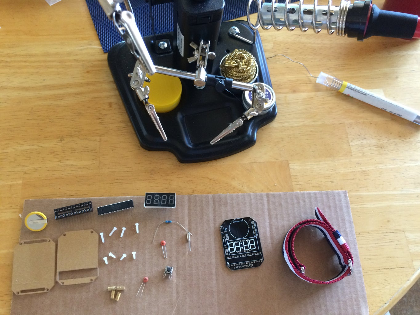 Organize the Components of the Watch and the Equipment Needed