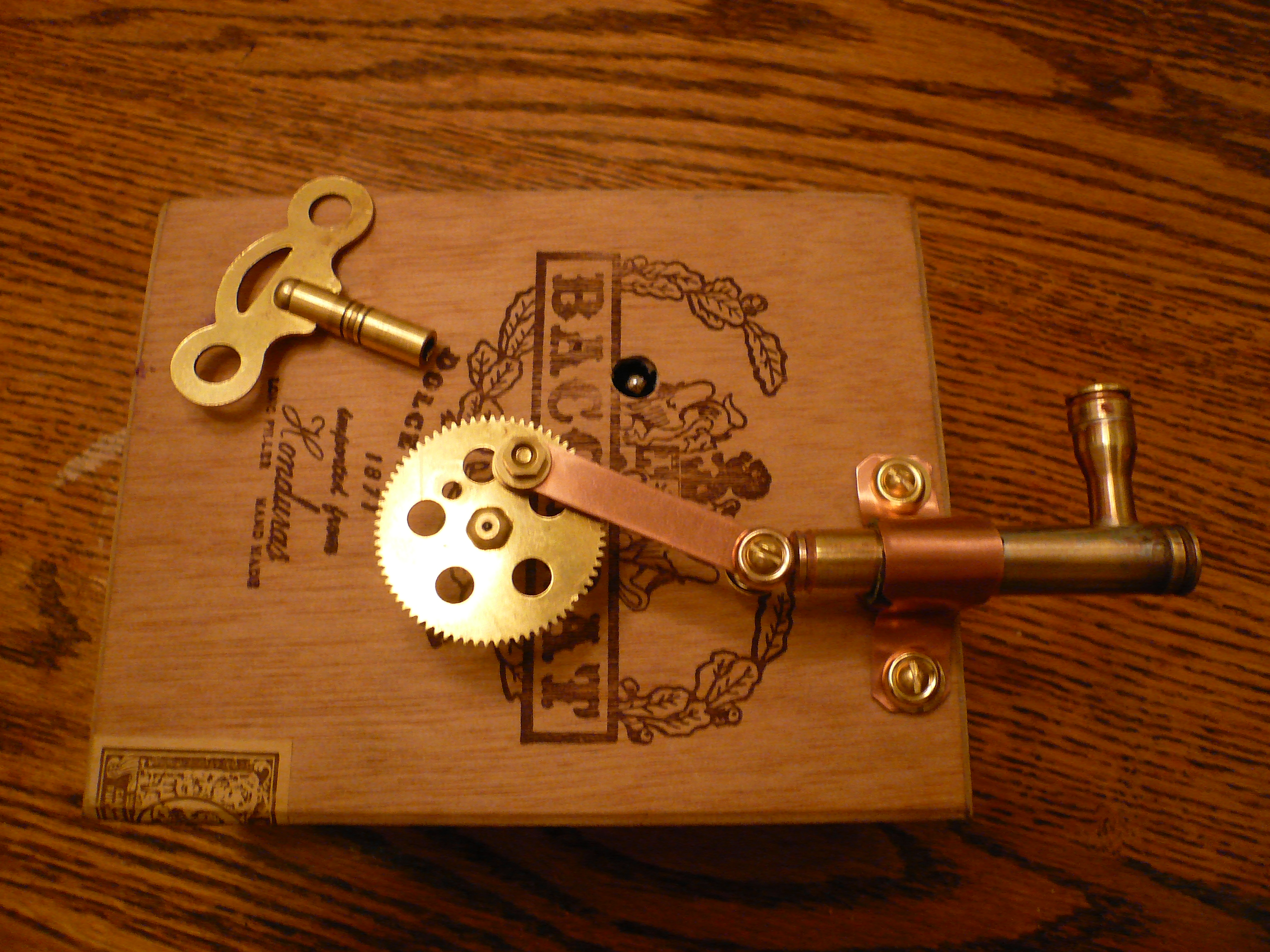 Clockwork Piston (Steampunk)