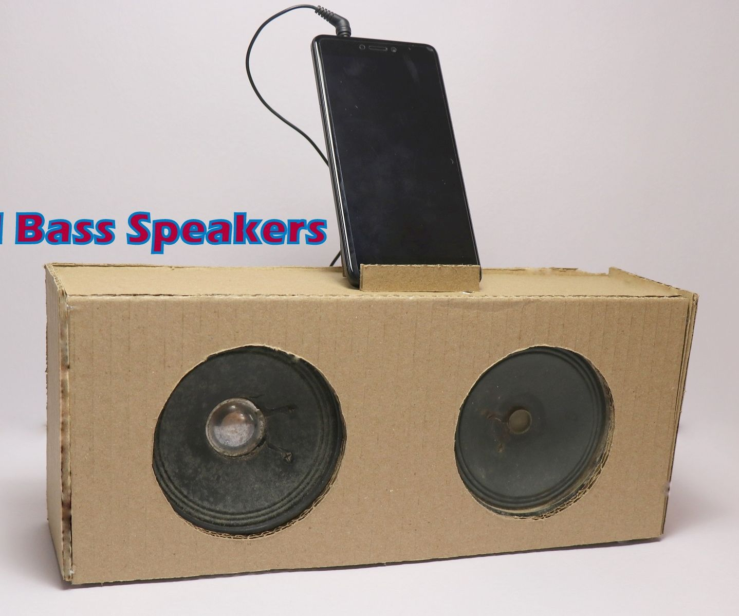 DIY External Bass Speakers for Mobile Phones and Laptops | Recycle Ideas