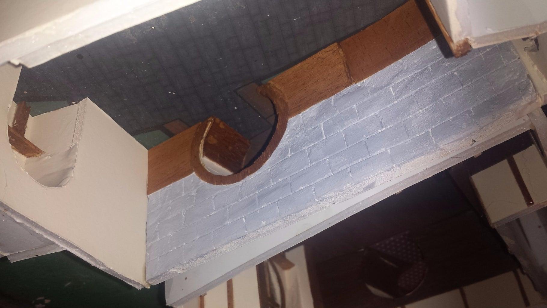 Stain, Bricks & Doors
