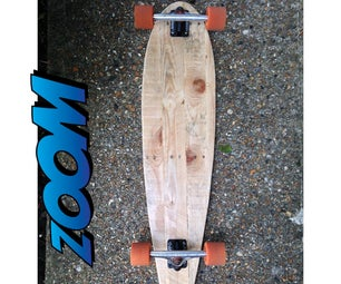 How to Make a Longboard With Pallets With Simple Tools