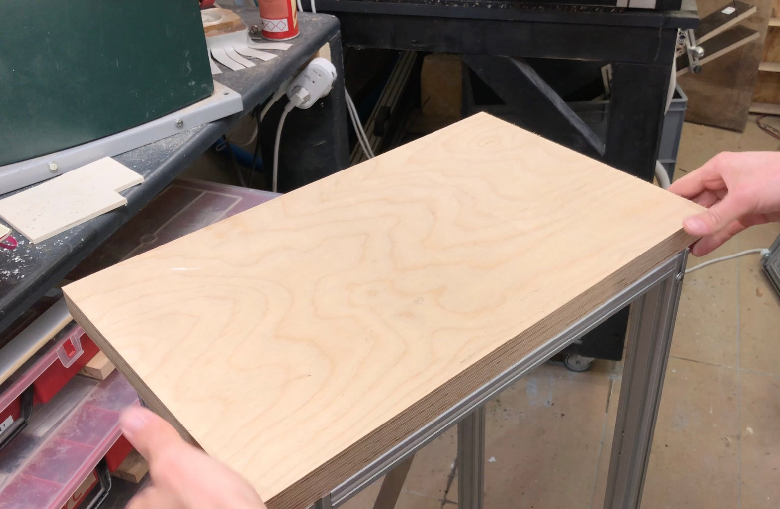 Add a Plywood Table Top. (Optional)