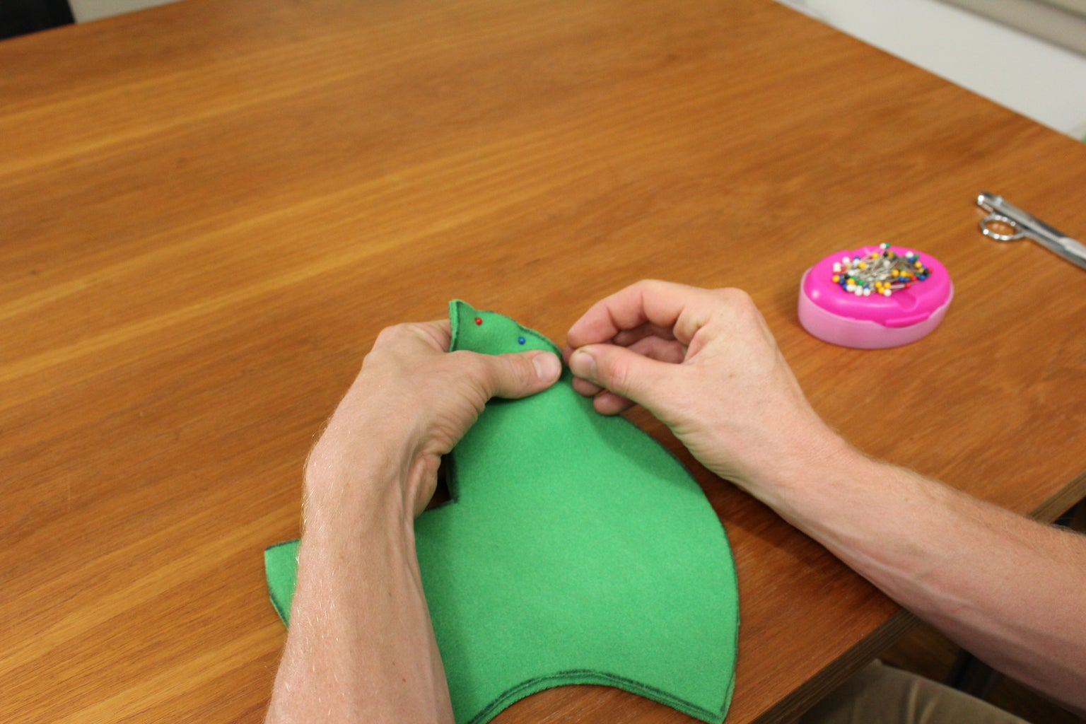Sewing the Head
