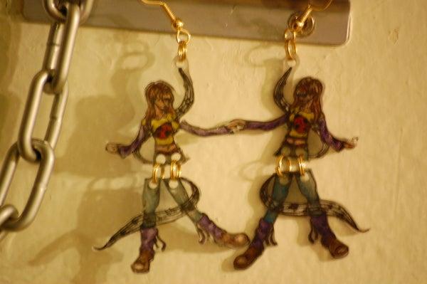 Shrinky Dink Dancers