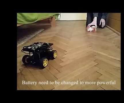 Embedded Vision-based Tracking System for Autonomous Robot Navigation