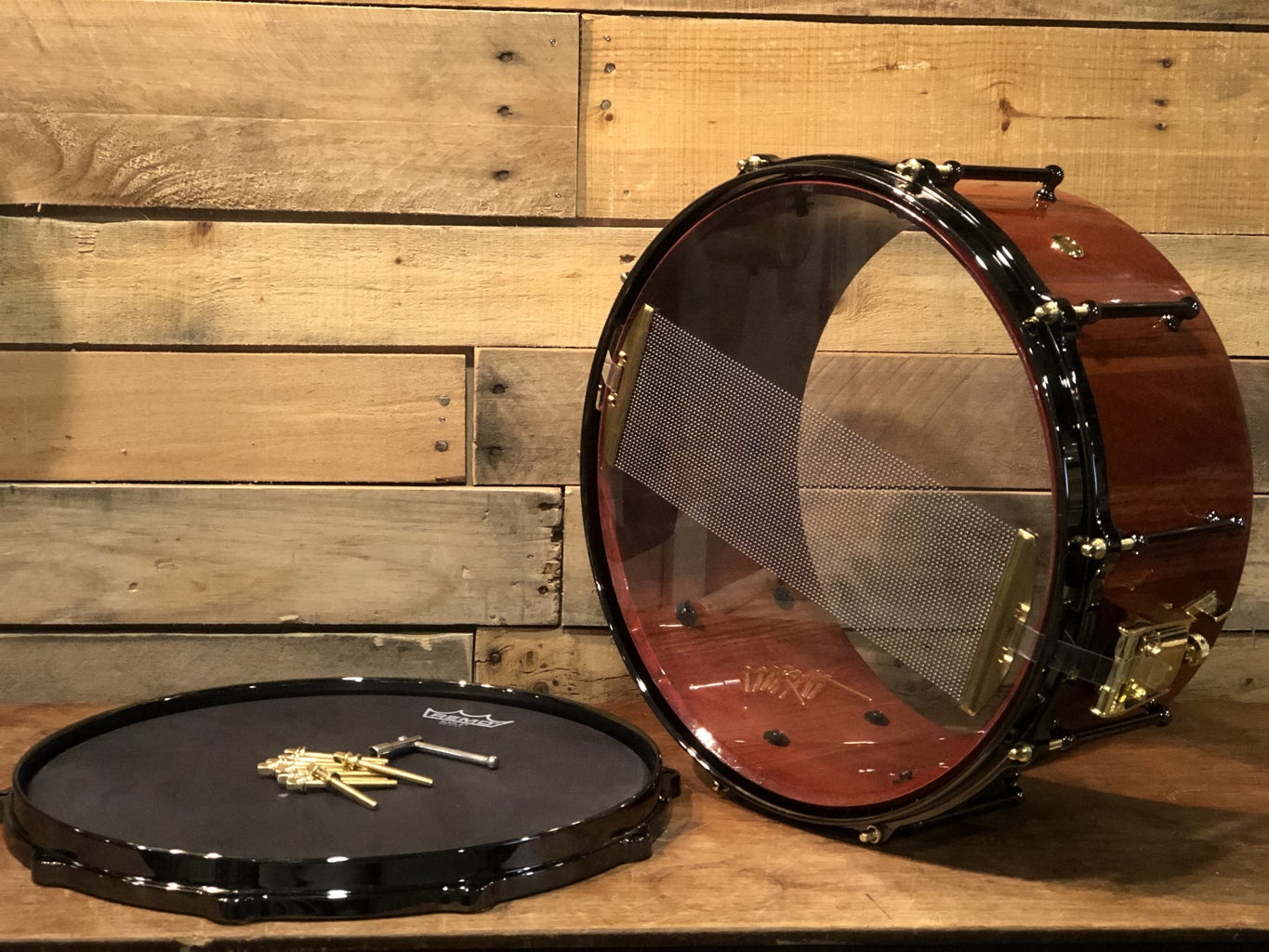 Building a Stave Snare Drum