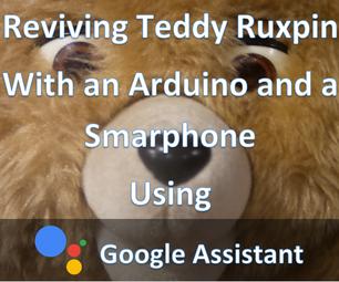 Phone+Arduino Controlled Teddy Ruxpin