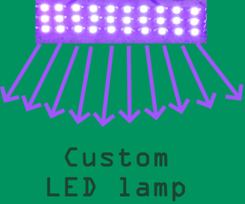 Custom LED Lamp