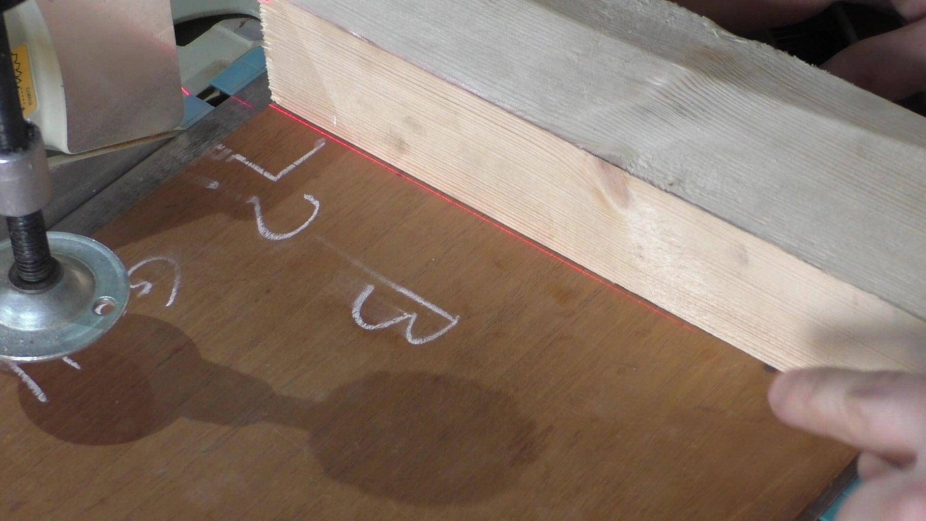 Setting the Back Fence Angle