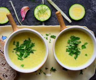 Courgette and Fennel Soup