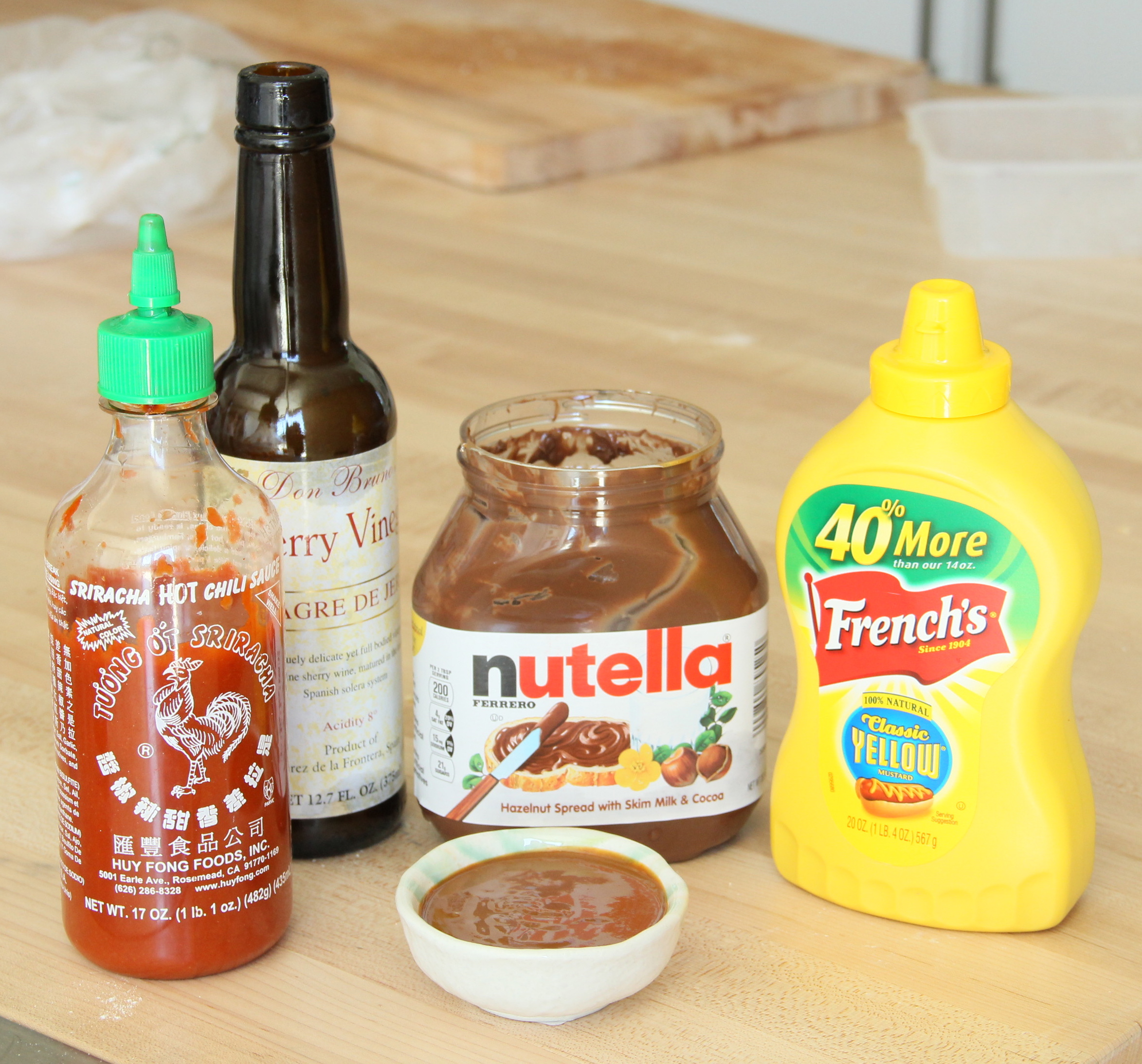 Nutella Barbecue Sauce