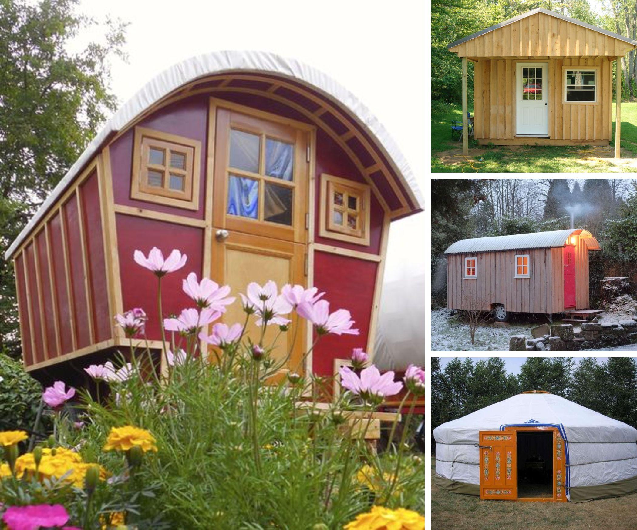 13 Handmade Tiny Houses