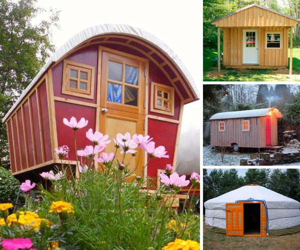 13 Handmade Tiny Houses