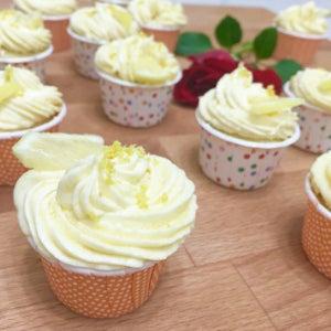 Zesty Lemon Cupcakes