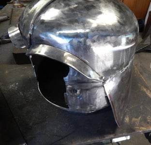Make the Back of the Helmet