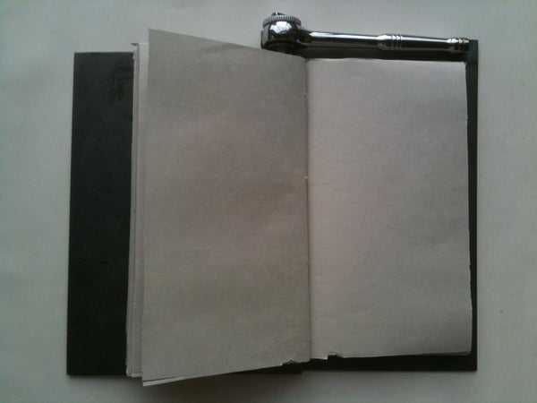 ANTAGONISTIC BOOKS: Curiosity - How to Make a Book That Can Only Be Opened Once