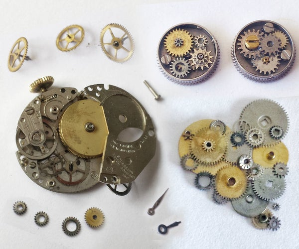 Disassembling Watches With 3 Common Tools