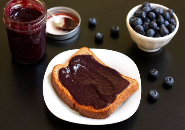 Slow Cooker Blueberry Lavender Butter