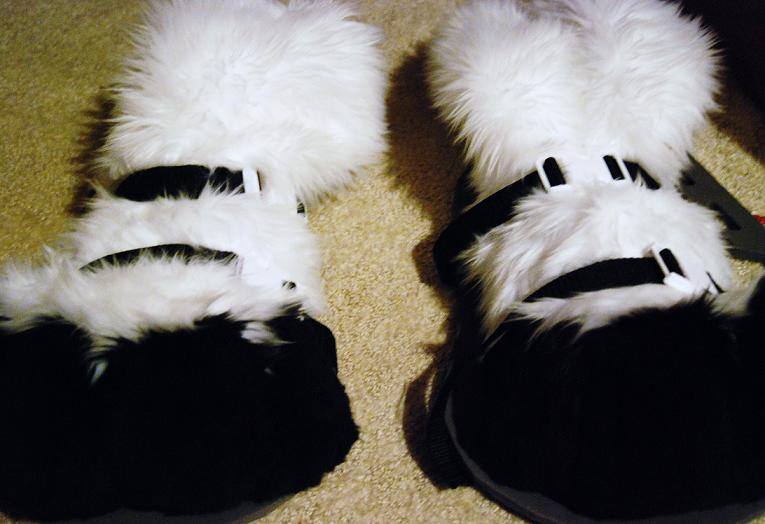 How to make Fursuit Sandals (Method 1 and 2)