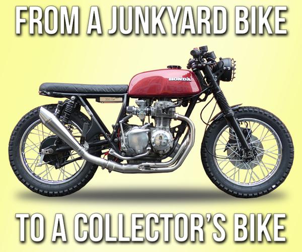 How to Turn a Junkyard Bike Into Collector's Bike