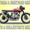 How to Turn a Junkyard Bike Into Collector's Bike