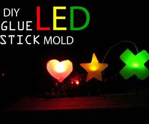 DIY LED With Glue Stick Mold