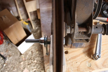 Modify the Drive Pulley, Part 2