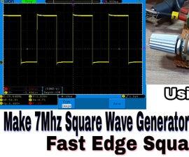 Fast Edge Square Wave Generator