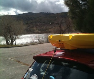 Car-Top Kayak Rack for Around Ten Bucks