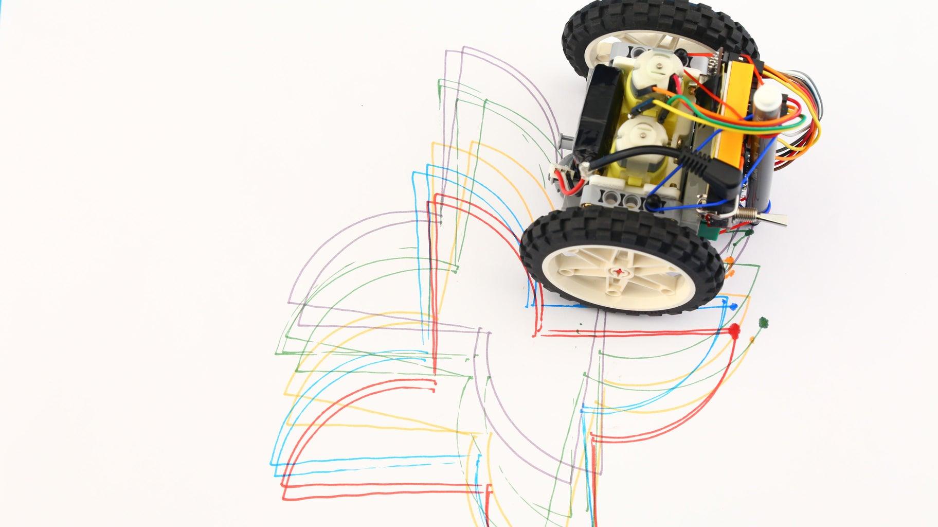 Make Your Robot Become a Spirograph