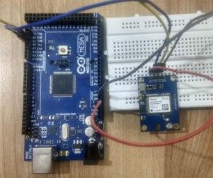 Interface Arduino Mega With GPS Module (Neo-6M)