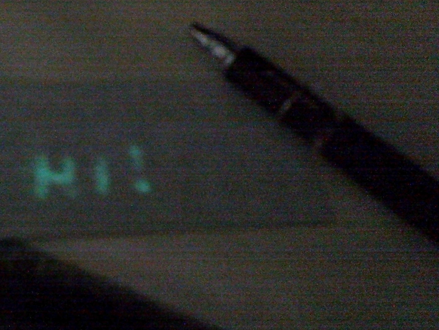Making an LED touch pen and UV-responsive writing surface