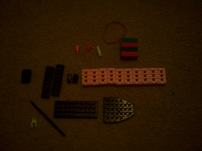 How to Make a Lego/Knex Gun, (or Just Knex)