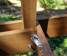 How to Attach Railing Posts to a Deck Frame