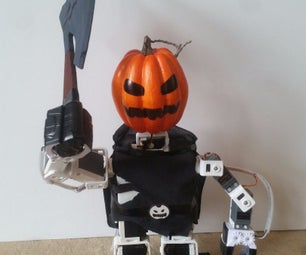 Robotic Headless Horseman